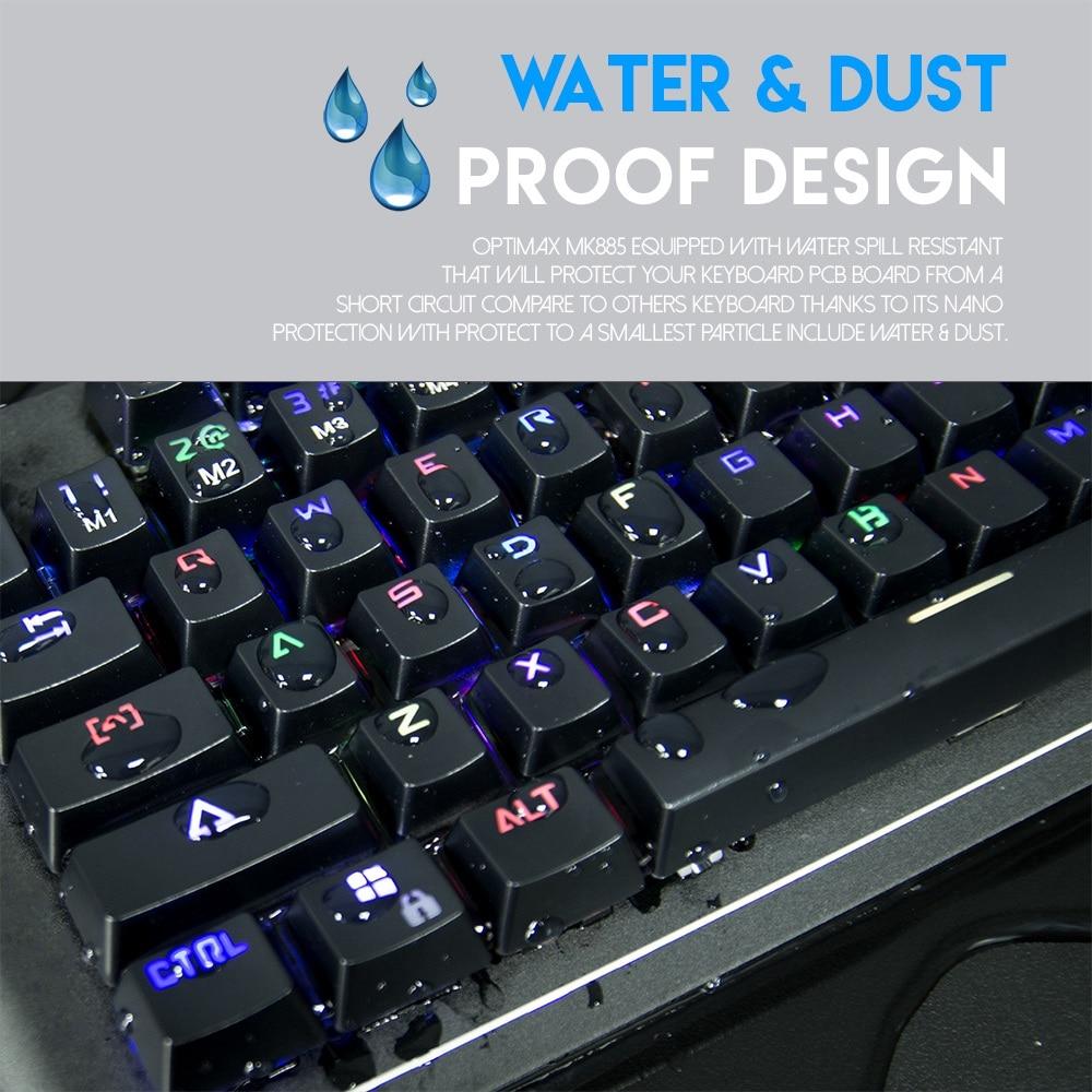 Fantech MK885 Optimax Full Size Edition RGB Mechanical Keyboard 10
