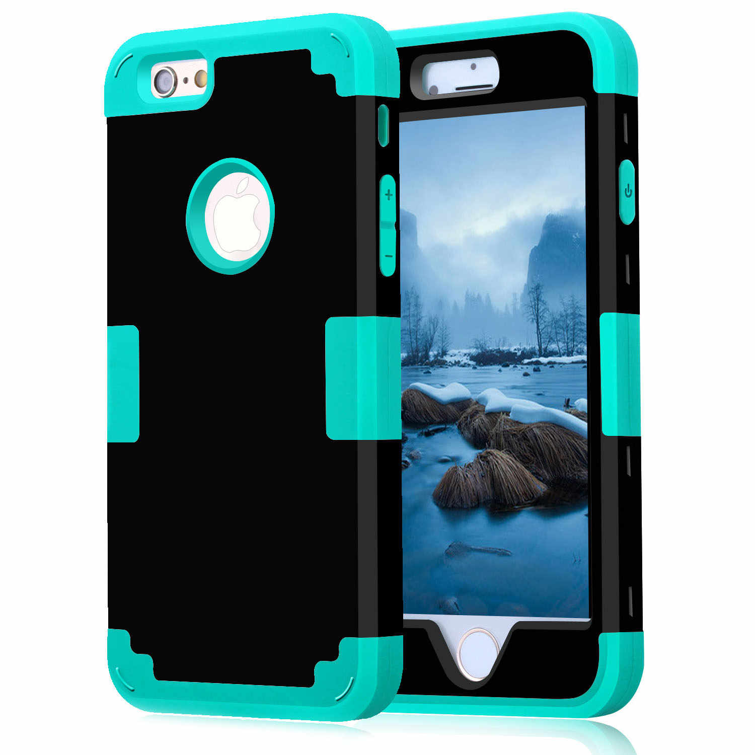 215efa905b7f For Apple iPhone 7 Case Shockproof Protect Hybrid Hard Rubber Impact Armor  Phone Cases For iPhone