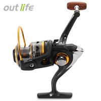 DK 1000 5000 High Quality 11 Bearing Balls Durable Spining Fishing Reels Portable Foldable Exchangable Reel