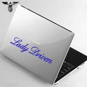 Image 4 - EmpireYing 3 Maten 8 Kleuren Grappige Belettering Art Meisje Verse Dame Gedreven Woord Auto Sticker Muur Deur Laptop Auto Styling decal Geschenken