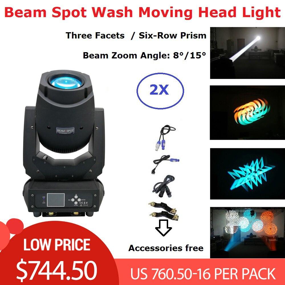 4xlot 2 Mais Novo 200 W LED Movendo A Cabeça Luzes Feixe de Lavagem Local 3IN1 LEVOU Luzes Do Palco Perfeito Para Dj Disco luzes Do Clube Partido Mostrar luces