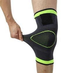 3d knitting pressure breathable knees basketball tennis climbing cycling knees professional protectionsports knee pads.jpg 250x250