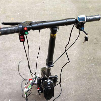 36V 350W Elektrische Handcycle Folding Rollstuhl Befestigung Hand Zyklus Fahrrad DIY Rad Stuhl Conversion Kits