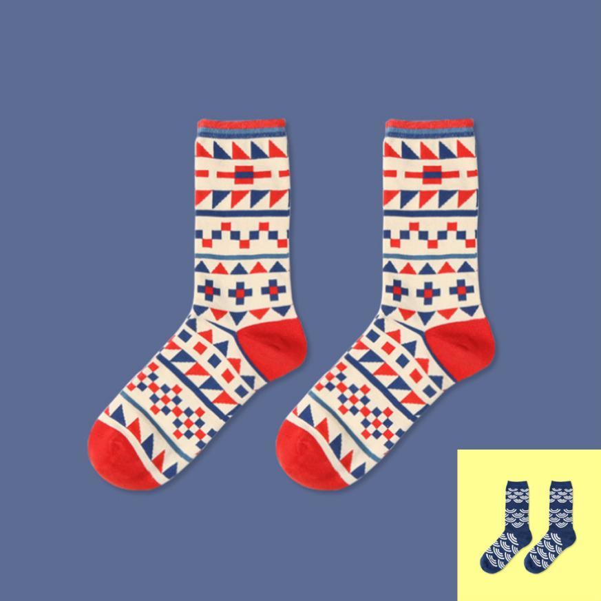 MUQGEW 1Pair 2017New Breathable Design Multi Color Fashion Dress Mens SocksCasual Cotton socks masculinas meias