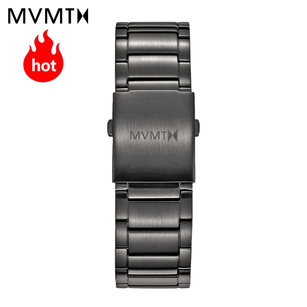 MVMT genuine leather strap / steel strap Europe and America fashion simple ins trend strap 45mmdw strap