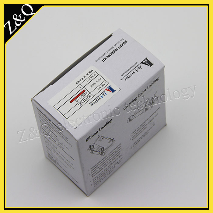 Original IDP Smart 650664 SIADC-P-R red ribbon for use with smart card printer 50d,50s,30s 50l idp smart 650664 siadc p r red ribbon use for smart id card printer ribbon