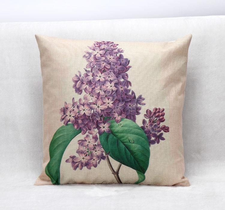 Lavender Cushion Decorative Pillows For Home Sofa Car Seat ,coussin  Decoration Emoji Cojines Pillow