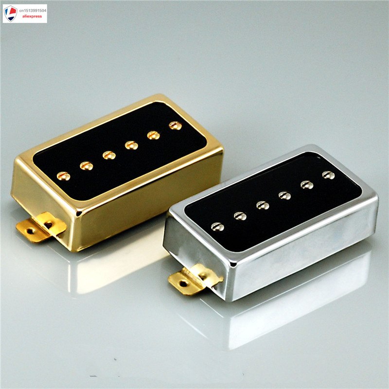 1pcs NEW Vanson AlNiCo V P90, Humbucker size Single Coil Pickup, HB90 Neck or Bridge vintage voice single coil pickups fits for stratocaster ceramic bobbin alnico single coil guitar pickup staggered pole top