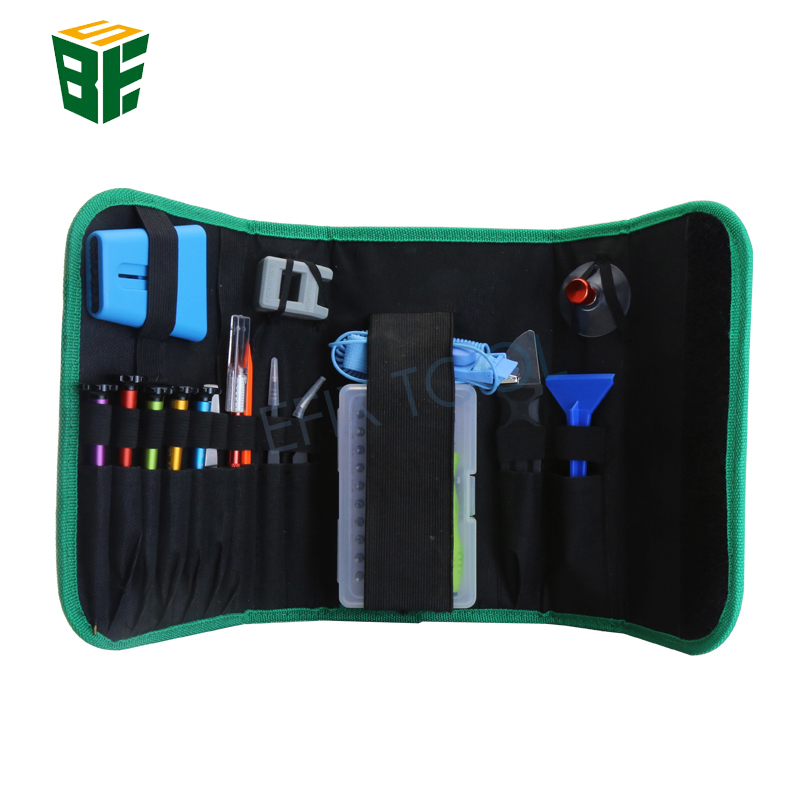 BST-116 Mobile Phone Repair Tools Kit Spudger Pry Opening Tool Screwdriver Set for Cell Phone Hand Tools Set magnetic screwdriver bits set opening tools flat phillips trox hexagonal pentalobe for appliance mobile phone bike pc repair