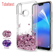 Dynamic Liquid Quicksand Glitter Case For Huawei P20 Lite Coque P8 P9 P10 P20 Mate 10 20 Lite Pro Y5 Y6 Y9 2018 Silicone Cover(China)