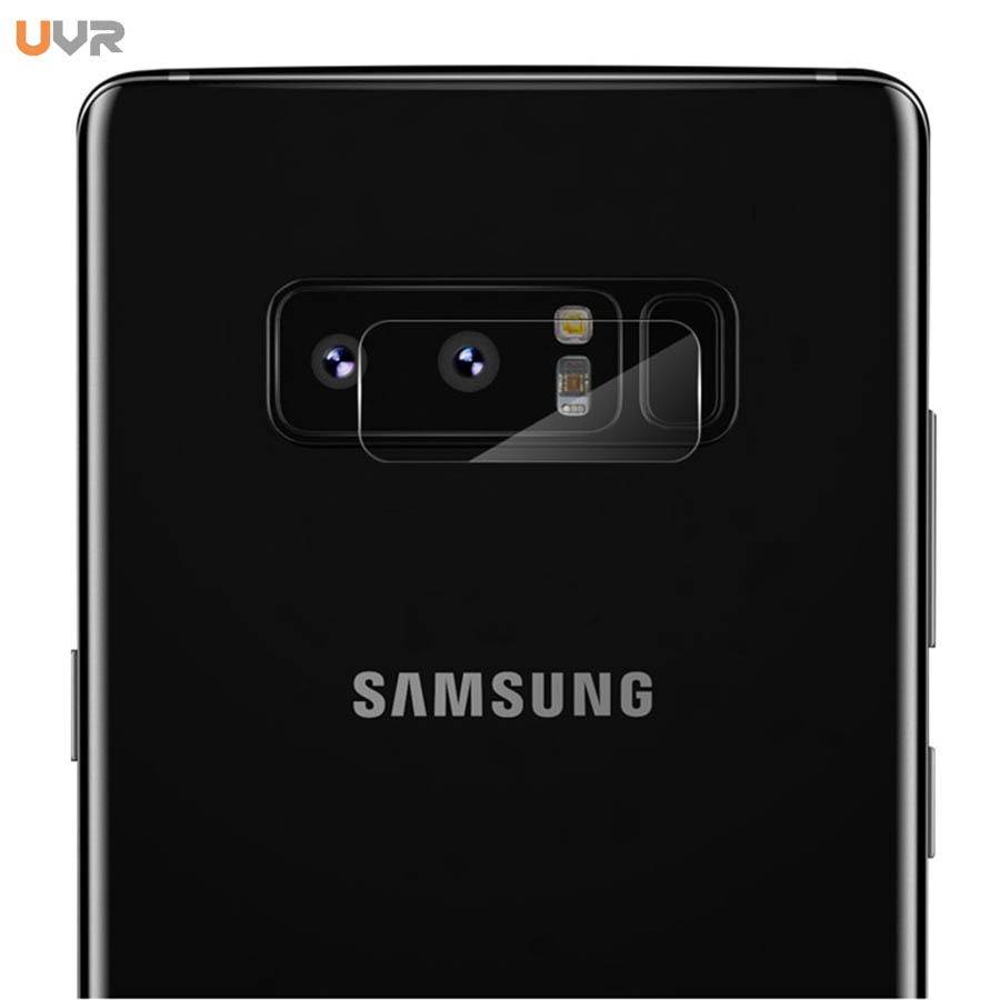 UVR Dedicated 2.5D Camera Protective Film For Samsung Galaxy Note 8 Camera lens Flexible Tempered Glass Film