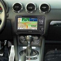 2 DIN Car DVD GPS For Audi TT MK2 8J 2006 2007 2008 2009 2010 2011 2012 2013 2014 multimedia radio Navigation system head unit