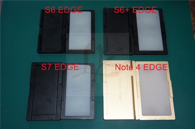 1pcs Universal OCA align & laminating mould for S6 EDGE S6+ EDGE S7 EDGE NOTE4 EDGE for OCA laminating machines universal lcd oca film laminating machine for iphone for samsung screen repair with 4 moulds universal s6 s6 s7 edge