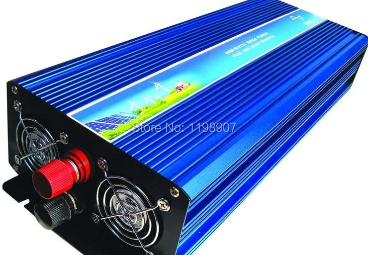 5000W Power Inverter Pure Sine Wave DC 12V to AC 220V Peak Power 10000W Solar Power Inverter Car Converter цена 2016
