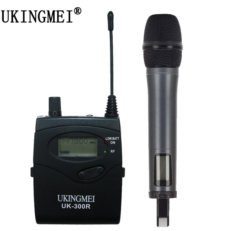 Portable Drahtlose Mikrofon Für Dslr Kamera Outdoor Aufnahme, Interview, Videoaufnahmen, Dv Uhf Handheld Mikrofon Auf Der Ganzen Welt Verteilt Werden