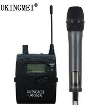 лучшая цена Portable Wireless Microphone  For DSLR Camera Outdoor Recording, Interview, Video Shooting, DV  UHF Handheld Microphone