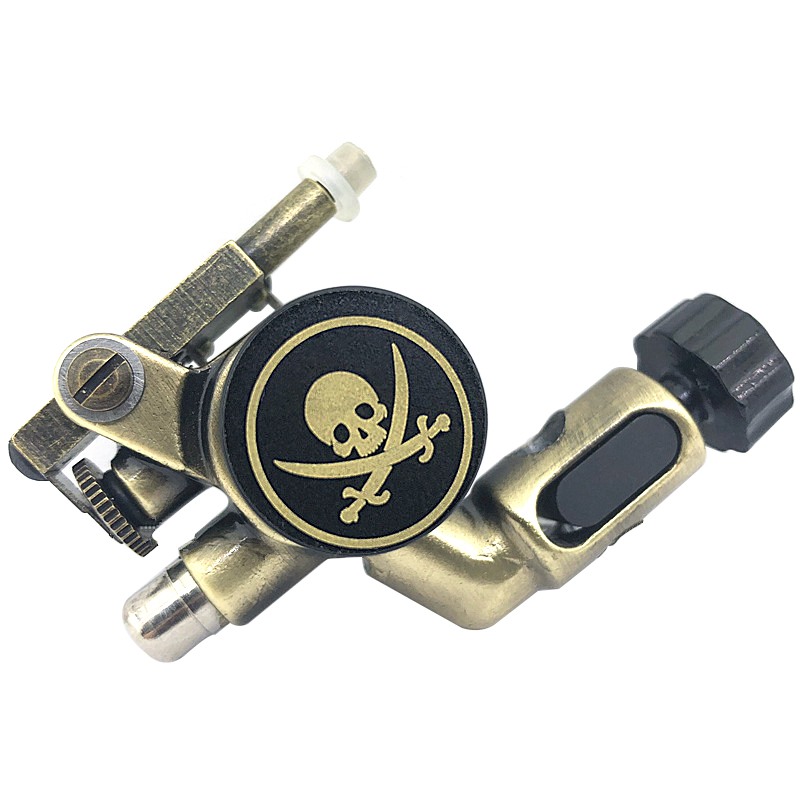 Newest Pirates Copper Rotary Tattoo Machine Gun Liner And Shader Japan Motor SuppliesNewest Pirates Copper Rotary Tattoo Machine Gun Liner And Shader Japan Motor Supplies