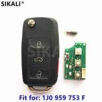 Car Remote Key For 1J0959753F 5FA8137 30 5FA008137 30 Beetle Golf Passat Jetta Rabbit 1998 1999