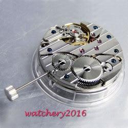 17 Jewels 6497 Лебедь Шея механическая ручная обмотка vitage мужские часы движение Мужчины t