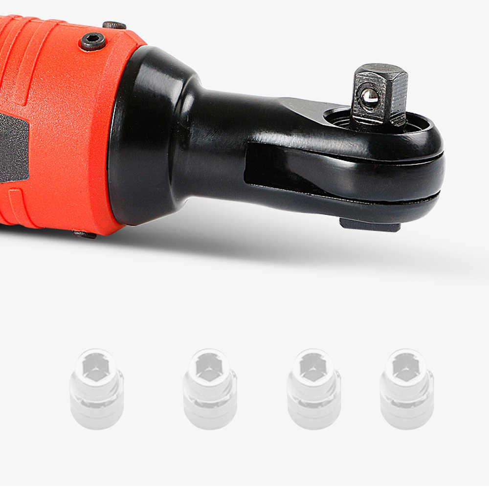 12 В 16 в электрический ключ 100 нм крутящий момент 3/8 дюйма беспроводной ключ 2000 мАч литиевая аккумуляторная батарея ремонт автомобиля электроинструмент