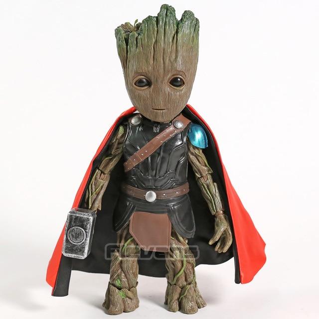 Marvel Tree Man Cosplay Deadpool Captain America Bucky Thor Wolverine PVC figurine à collectionner modèle jouet
