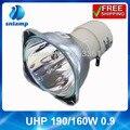 Alibaba aliexpress lâmpada do projetor UHP 190/160 W 0.9 para NP110 +/NP115 +/NP210 +/NP215/NP215 +/NP216 +/NP13LP/NP-V300X +...