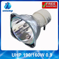 Alibaba aliexpress projector lamp bulb UHP 190/160W 0.9 for NP110+/NP115+/NP210+/NP215/NP215+/NP216+/NP13LP/NP-V300X+...