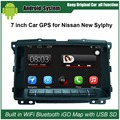 Upgraded Original Car Radio Player Suit to Nissan Sylphy (2010 after) Car Video Player Built in WiFi GPS Navigation Bluetooth