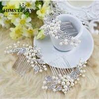High Quality Luxury Wedding Crystal Hair Comb Bridal Headpiece Tiara Crystal Comb Wedding Hair Accessories
