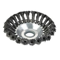 Outer Diameter 150mm Rotary Weed Brush High Carbon Steel Inner Hole 25mm Brush Cutter Wire Diameter 0.5mm Trimmer Head