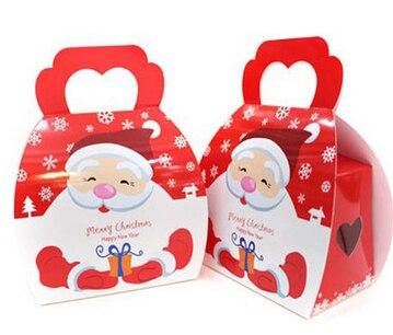 Geschenkbox Weihnachten.Us 120 0 200 Stücke Weihnachten Platz Boden Geschenkbox Weihnachten Favor Box Weihnachtsdekoration Urlaub Geschenk Box In 200 Stücke