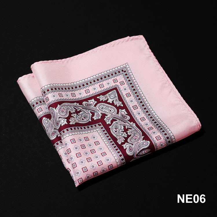 NE06 HN07K Pink Brown Paisley