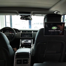 hot deal buy latest android 11.8 inch wifi wireless headphone car headrest monitors for land rover 2pcs rear seat entertainment