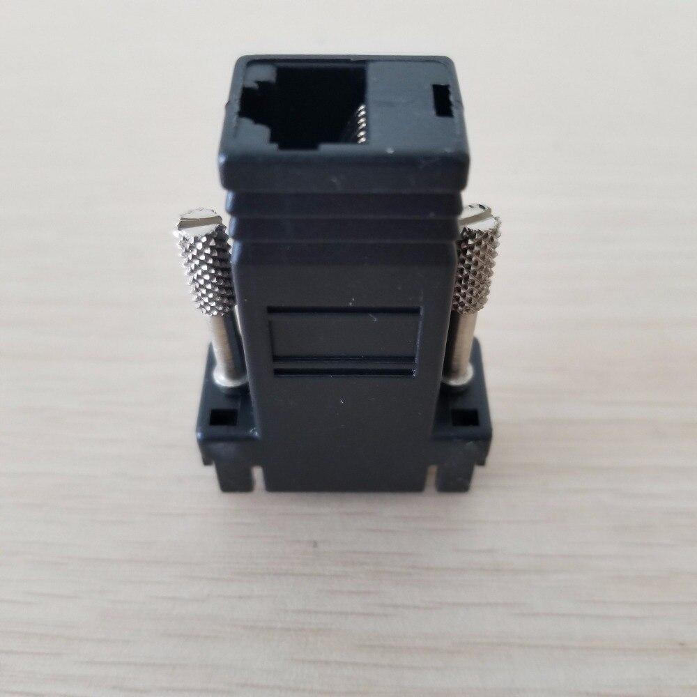 En gros 50 pcs/lot 15PIN VGA à RJ45 connecteur nouveau VGA Extender mâle à Lan Cat5 Cat5e RJ45 Ethernet femelle adaptateur - 4