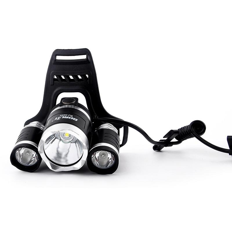 12000LM XML-T6 R2 светодиодный фар 4 режима Перезаряжаемые фары Факел для Открытый Охота Кемпинг Рыбалка фонарик Фара