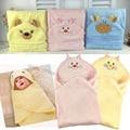 Весенняя Мода Плед новорожденных детские одеяла мешок хлопка мягкий коралловый флис детское одеяло детские товары, канцтовары оптом