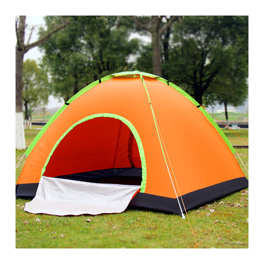 3-4people Quick Automatic Opening Camping Tent Outdoor Sunscreen Travelling Mountain Climbing Picnic Camping Fishing Tent mountain hardwear mountain hardwear ghost ul 2 tent