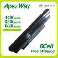 Apexway negro 111 V batería del ordenador portátil para Acer Aspire AL10A31 AL10B31 AL10G31 522 D255 722 D257 D255E D260 D270 AOD255 AOD260