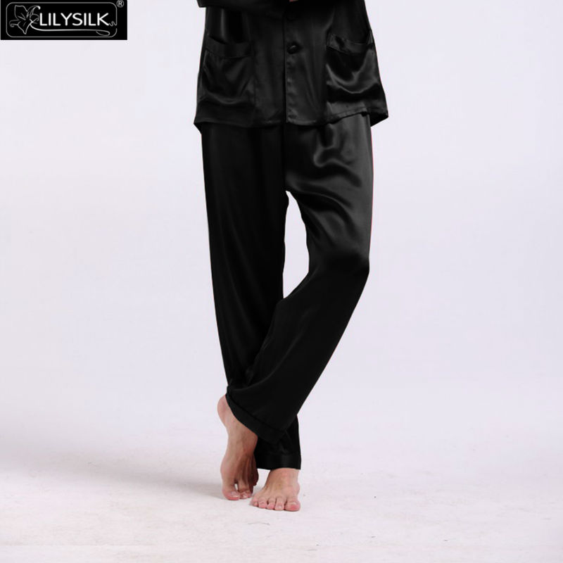 1000-black-22-momme-long-silk-pants-for-men-02