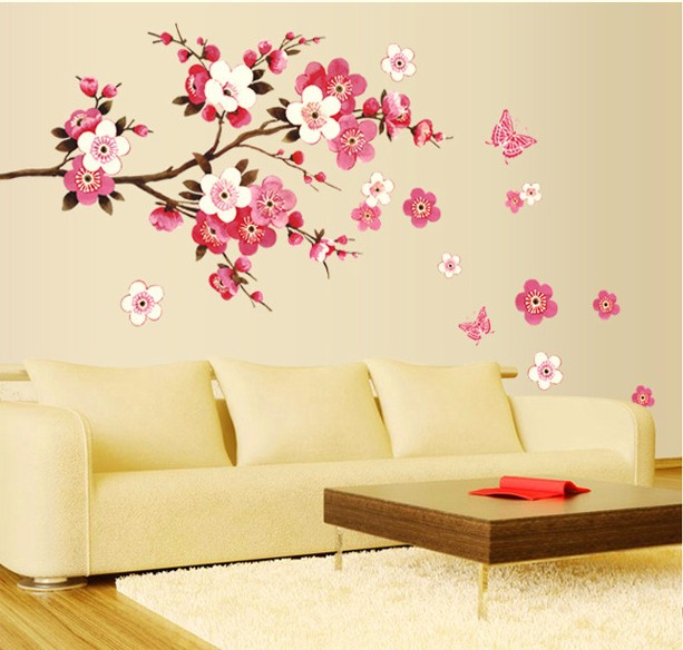 Christmas Decoration Wall Sticker Big size Removable Wall Stickers ...