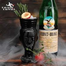 цены на 280ml Hawaii Tiki Mugs Cocktail Cup Beer Beverage Mug Wine Mug Ceramic Easter Islander Tiki Mugs  в интернет-магазинах