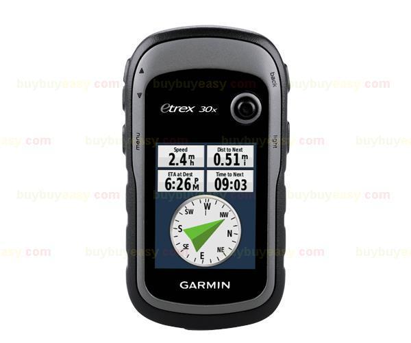 NEW GARMIN etrex 30x Handheld GPS Navigator 010-01508-10