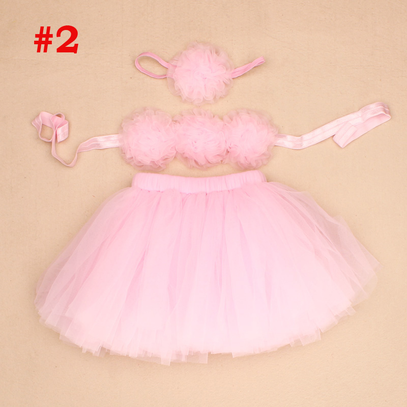 Baby-Tutus-Set-Fancy-Frills-3-Piece-Set-Includes-Tutu-Skirt-Headband-and-Top-Newborn-Photo-Props-Birthday-Tutu-Set-TS068-2