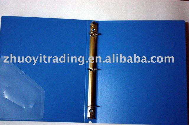 One inch three holes type O folder