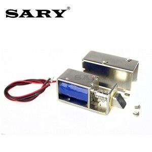 Image 3 - Trava eletromagnética pequena de 0.8a, armários de armazenamento, mini parafuso elétrico, fechadura de gaveta, armário