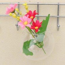 8 см/12 см Стекло ваза для цветов деревянные стены Висячие емкости