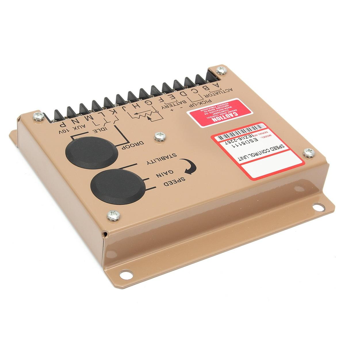 Contrôleur électronique d'unité de régulateur de vitesse de moteur pour pièces de groupe électrogène Diesel ESD5111 Instructions en anglais - 5