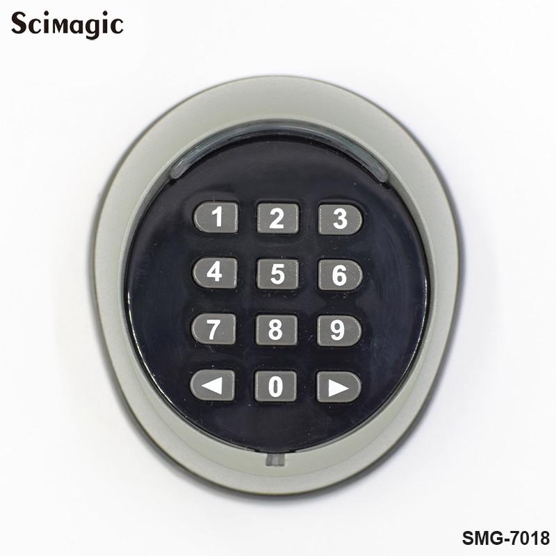 Image 3 - 433.92 mhz kit Interruptor 2CH Senha Do Teclado Remoto Sem Fio  para a porta do portão 433 MHz controle de acesso da porta da garagem  porta universal abridor de garrafasTeclados de controle de acesso   -