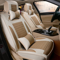 3D Full Surround Design Car Cushion Seasons Car Seat Cover For Toyota Camry 40 Corolla RAV4 Verso FJ Land Cruiser LC 200 Civic