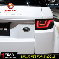 Car Styling taillights case for Range Rover Evoque taillight 2012 2018 TAIL Lights LED Tail Light LED Rear Lamp Certa